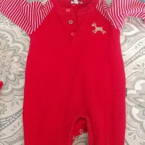 Le Top infant One piece Holiday Thermal Outfit